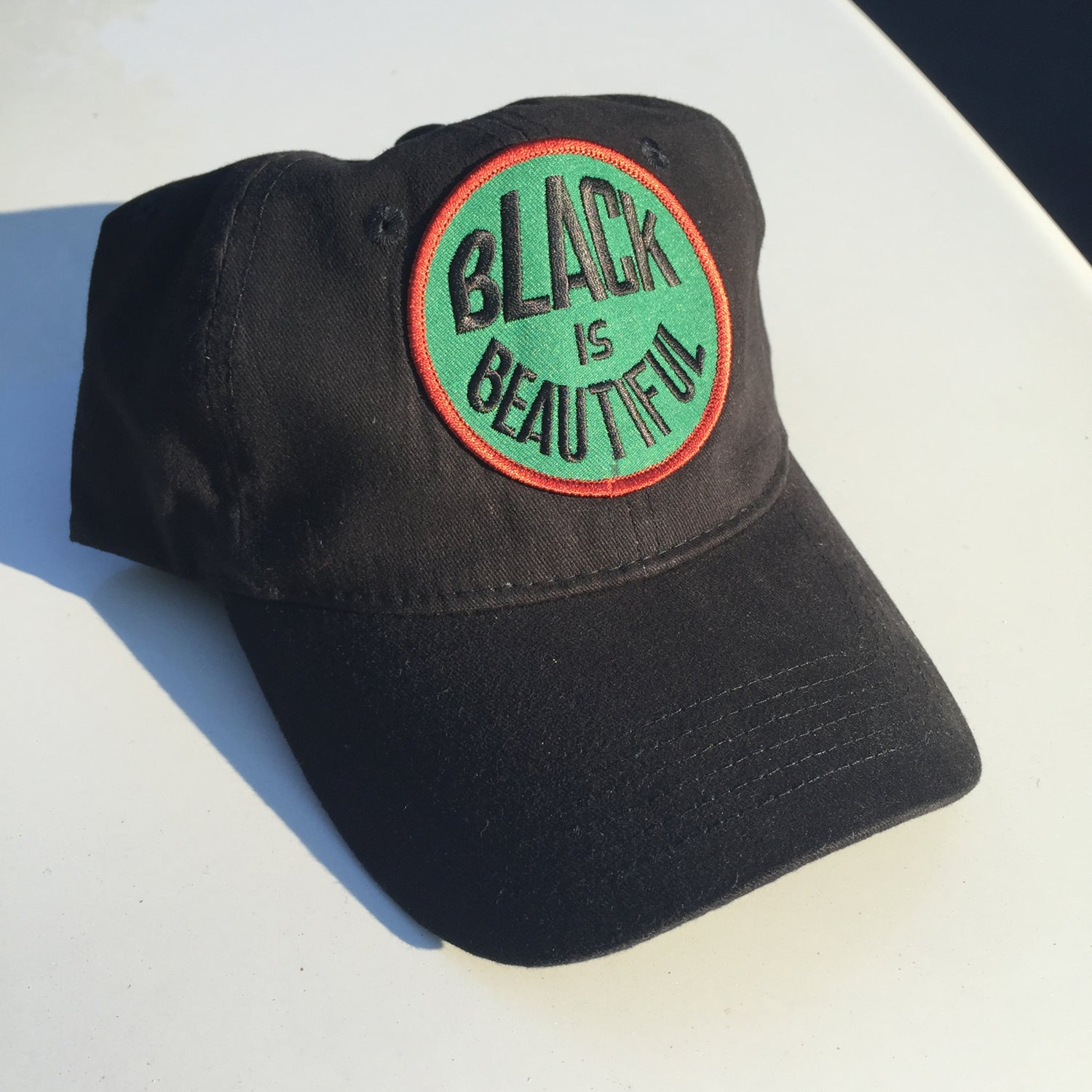 "Image of ""Black Is Beautiful"" Dad Hat"