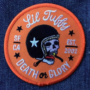 """Image of Lil Tuffy """"Death or Glory"""" Patch"""