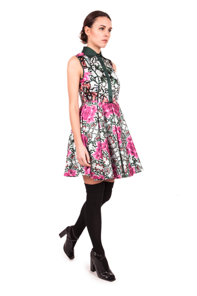Image of Miami Dress| Peonies