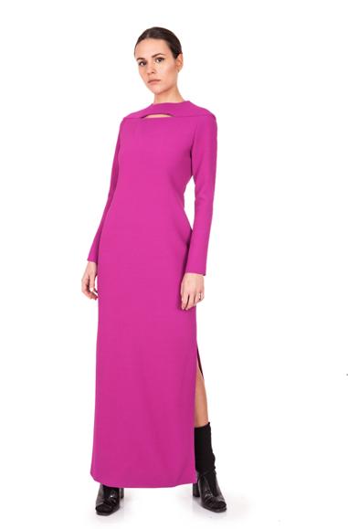Image of Long Dress| Cyclamen