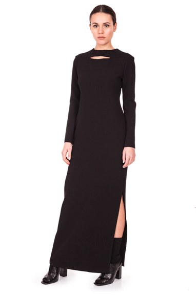 Image of Long Dress| Black
