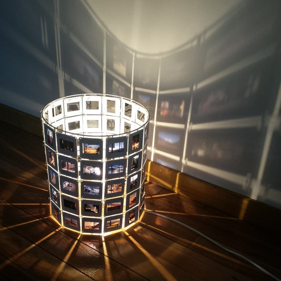 Image of Lampe diapo