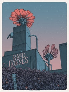 Image of Band of Horses in Troutdale, OR Poster