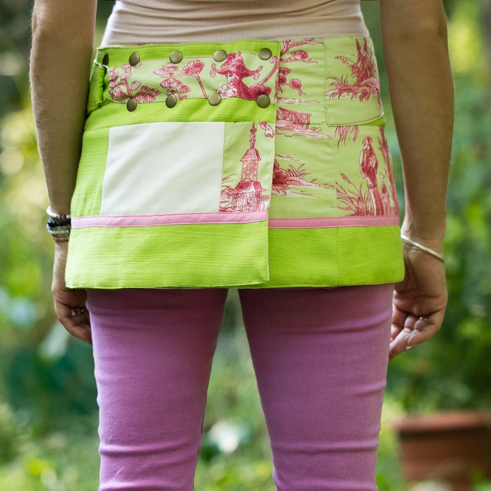 Image of Hollow & Ridge yoga skirt-vintage green