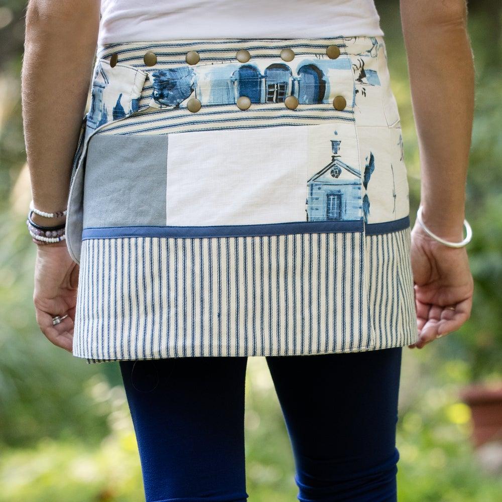 Image of Hollow & Ridge yoga skirt-vintage blue
