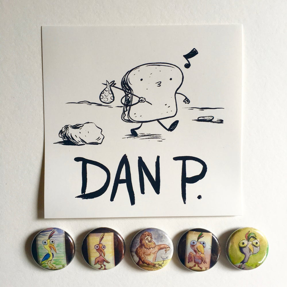 Image of Limited Edition Art Button Pack # 1