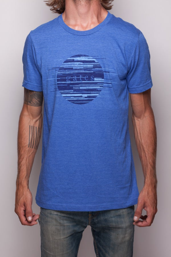 Image of Blue 'Parallel' Shirt