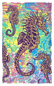 Image of Seahorse Art Print