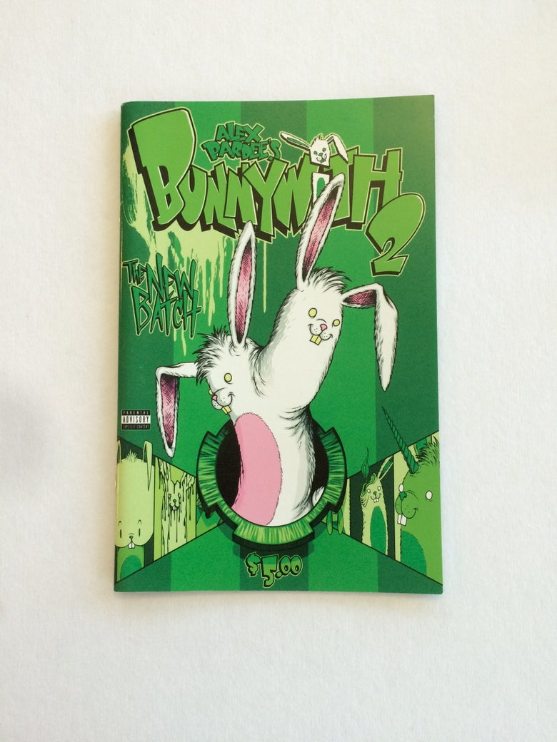 Image of Bunnywith 2 | By Alex Pardee | Comic
