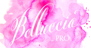 Image of Belluccia Pro Hand Lettered Font