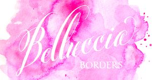 Image of Belluccia Borders Hand Lettered Font