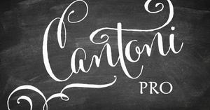 Image of Cantoni Pro Hand Lettered Font