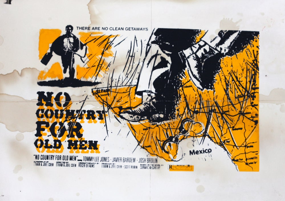 Image of No Country for Old Men Lobby Card Relic
