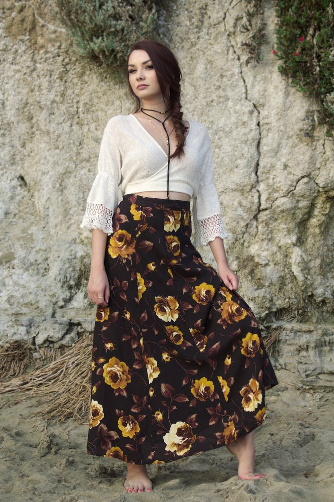 Image of The Rosa Midi Skirt