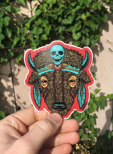 """Image of """"BUFFALO"""" sticker"""