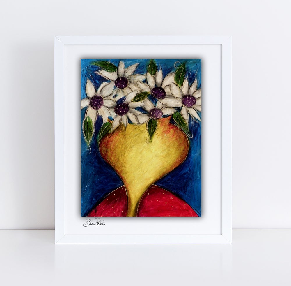 Image of Vase Of Flowers PRINT