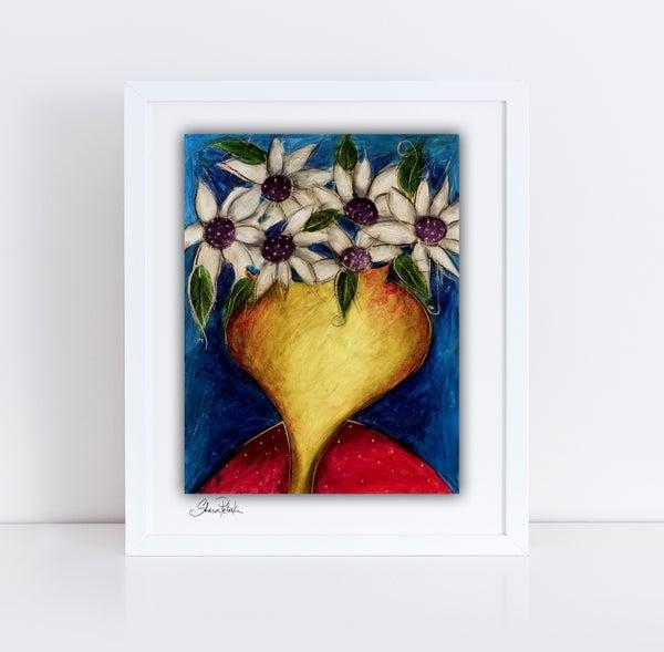 Image of Vase Of Flowers PRINT