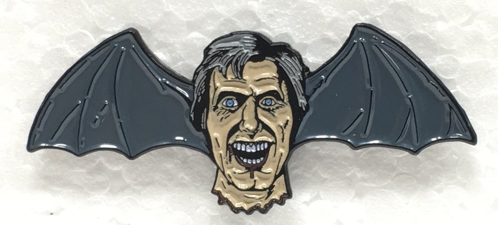 "Image of ""Dr. Hill Bat-Head"" Pin"