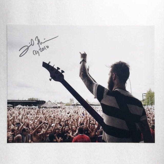 Image of Signed 8x10 DAVID FLINN Print