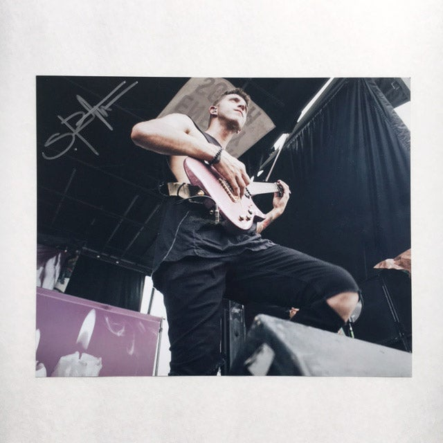 Image of Signed 8x10 STEPHEN RUTISHAUSER Print
