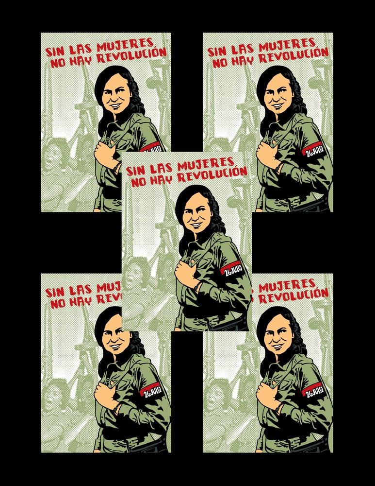 Image of Sin Las Mujeres No Hay Revolution Sticker Pack