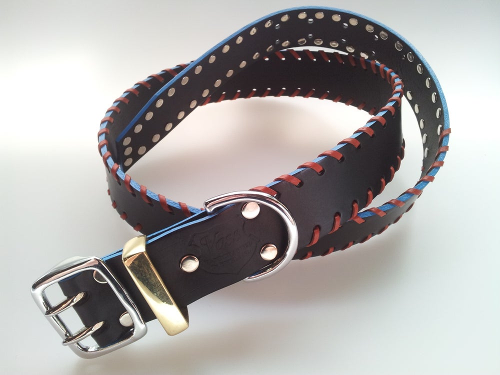 Image of Count Loop + D-ring / Apache Red Thong + Baby Blue Edge + Eternal / Colour Options