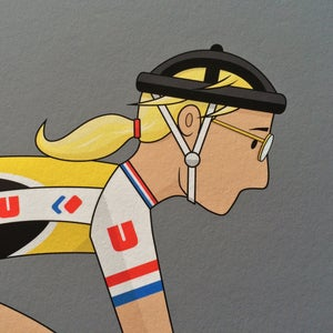 Image of Laurent Fignon A3 Giclee Print