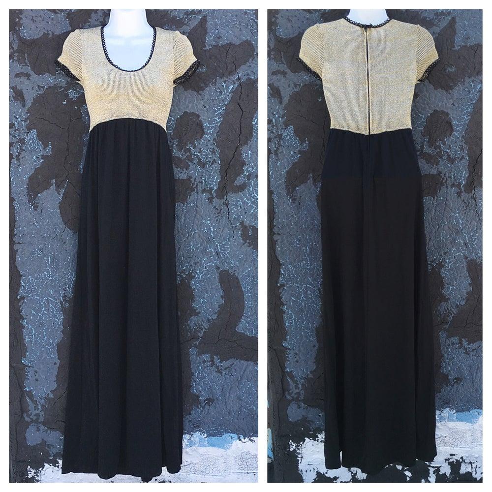 Image of 70s Metallic Gown