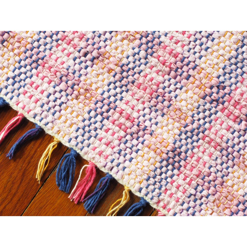 Pink, Multi-colored / Handwoven