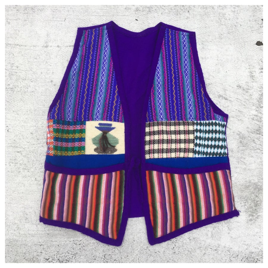 Image of Ethnic Patch Vest