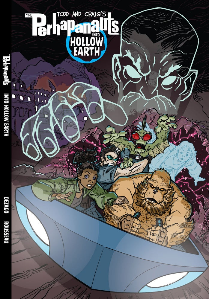 Image of INTO HOLLOW EARTH original HC graphic novel