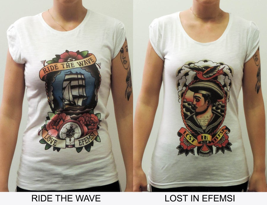 Image of SAILOR T-SHIRT WOMAN