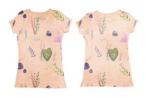 Image of Pattern (tee-shirt fille), (Body bébé)