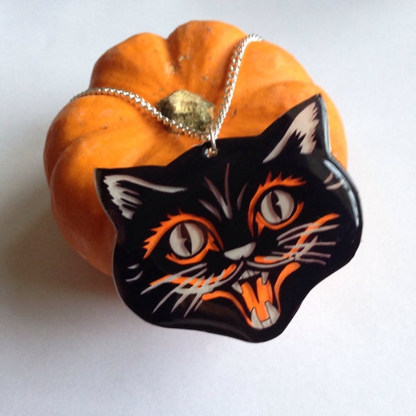 Image of Halloween Black Cat - from...