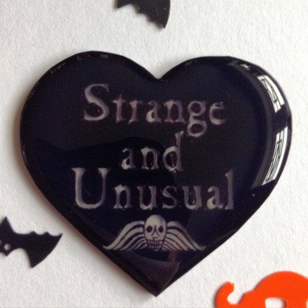 Image of 'I Myself Am Strange And Unusual...'