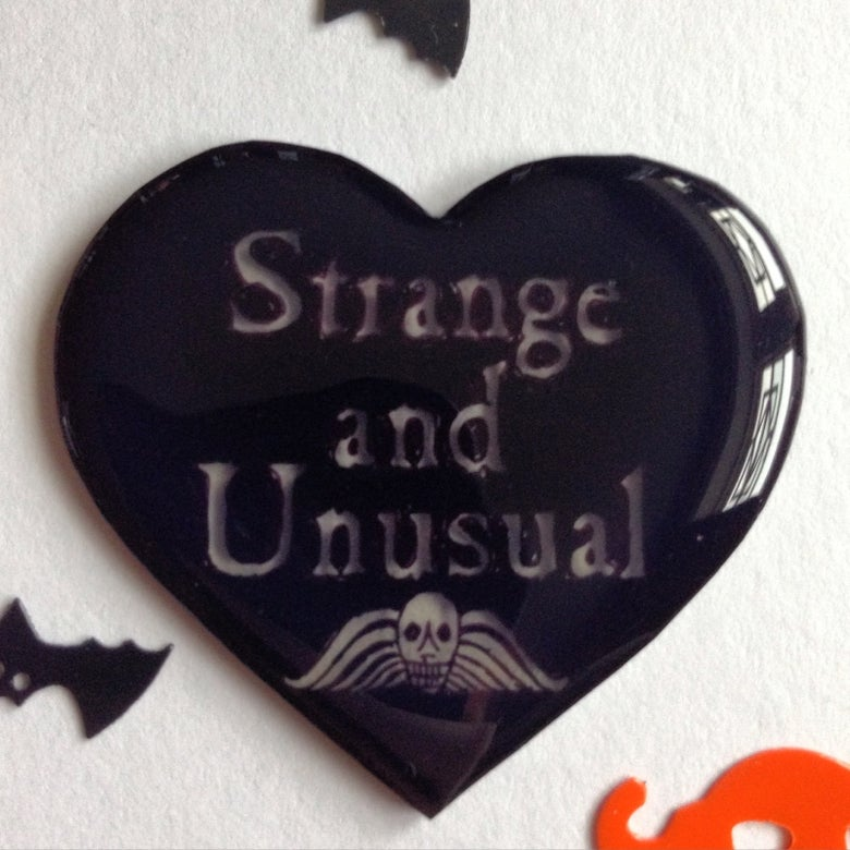 Image of 'I Myself Am Strange And Unusual...'