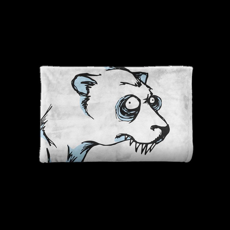 Image of BEARY WHITE BLANKET