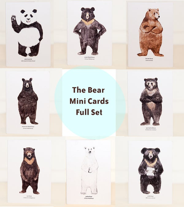 Image of The Bear Mini Cards Set