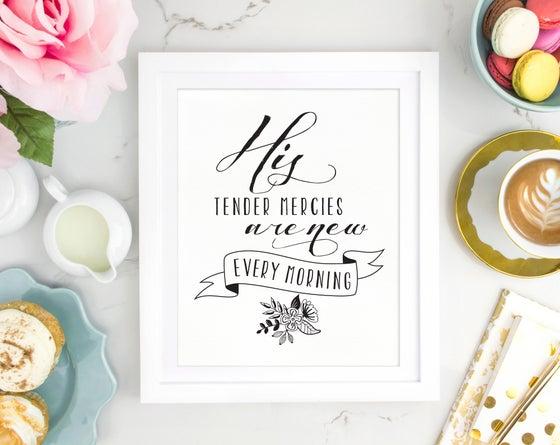 Image of Tender Mercies   Print