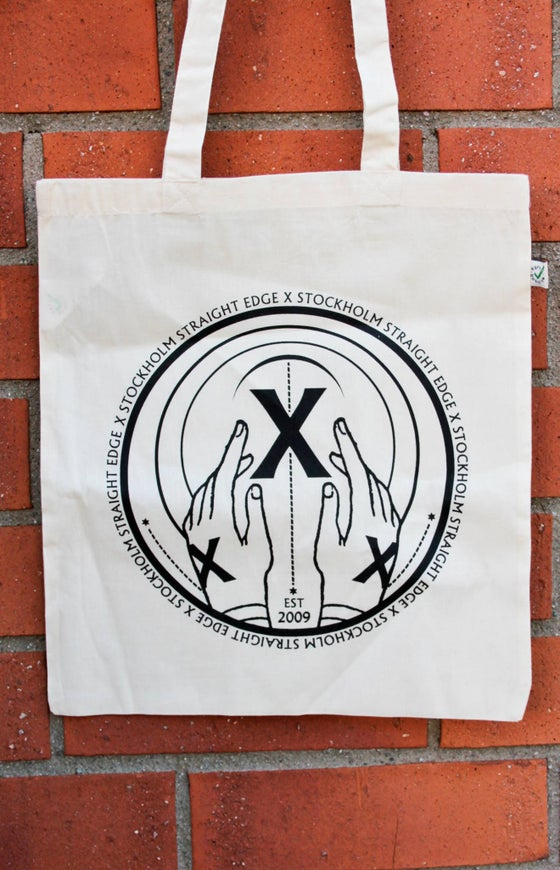 Image of Stockholm Straight Edge tote bag