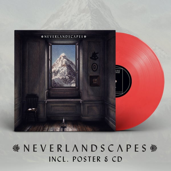 Image of NEVERLANDSCAPES LP // Red or black Vinyl