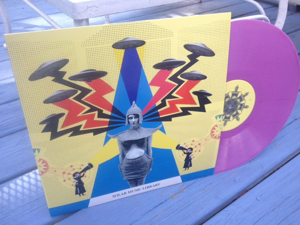 Image of Solar Music Library - Solar Music Library Limited Vinyl LP ( Purple )