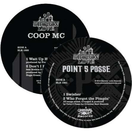 Image of Coop MC/Point 5 Posse Vinyl