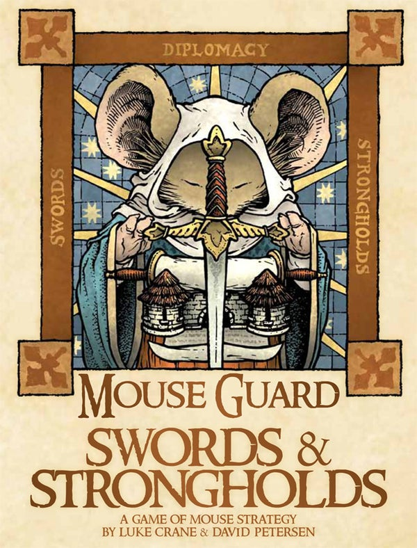 Image of Mouse Guard Swords & Strongholds Board Game *SIGNED*