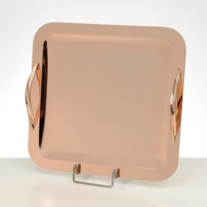Image of Rose Gold Square wedding tray
