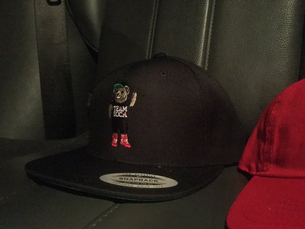 Image of Team Soca Bear Snap Back