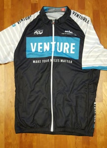 """Image of Venture Jersey - """"Make Your Miles Matter"""""""
