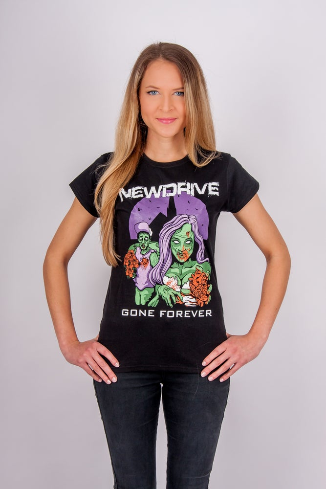 Image of Gone Forever T-Shirt Purple (Girly)