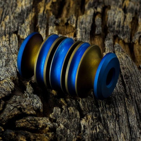 Image of Zilla Satin Bronze & Blue #1