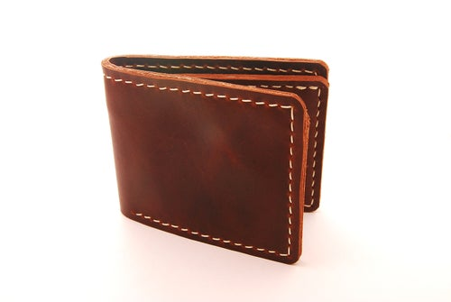 Image of The Coastal Bifold Leather Wallet